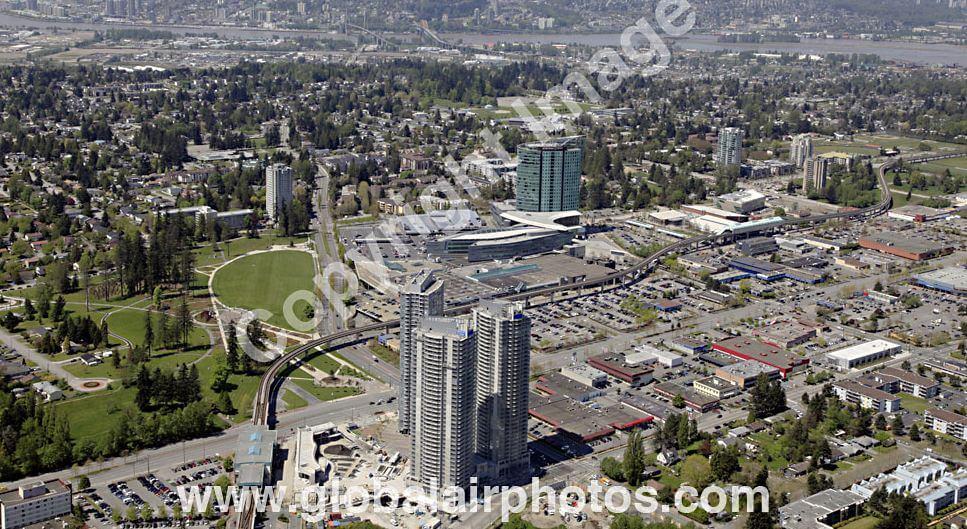 An overhead shot of modern-day Surrey.  From: Waite Air Photos, Inc.