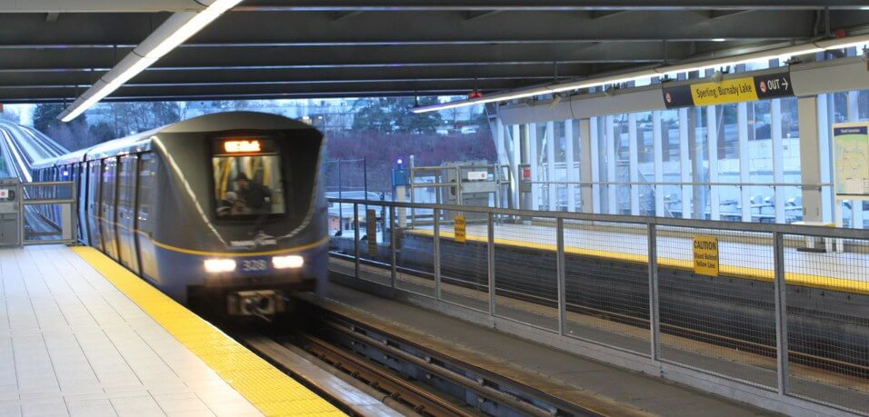 A newest generation ART 200 SkyTrain car - From Wikimedia Commons - http://commons.wikimedia.org/wiki/File:Sperling_Station_West_Bound_Mk2_Train_Entering_Station_20100116.jpg by Wakasui