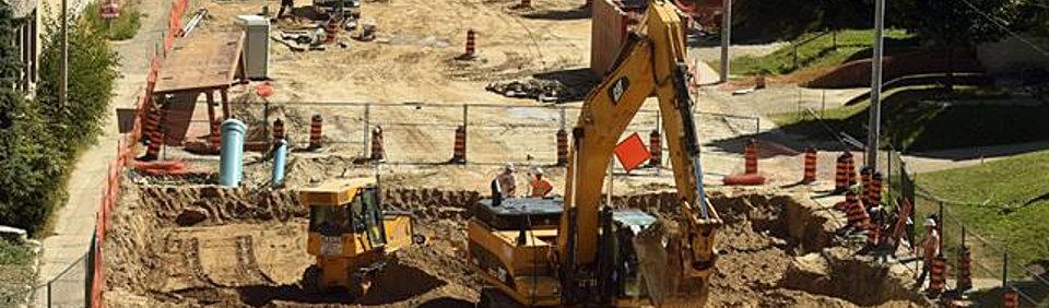 LRT construction header