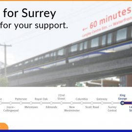 NDP takes open stance on SkyTrain in Surrey