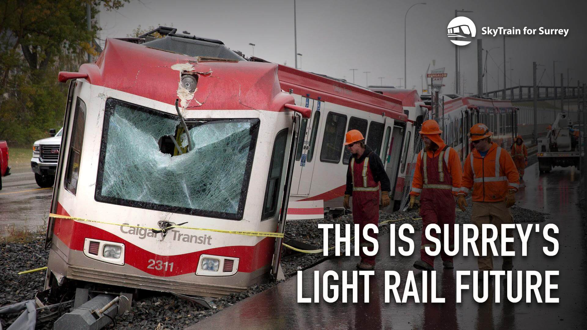 Commuter chaos: Fatal collision shuts down Calgary's C-Train LRT