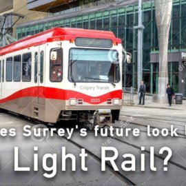 Video offers glimpse into Surrey's Light Rail future