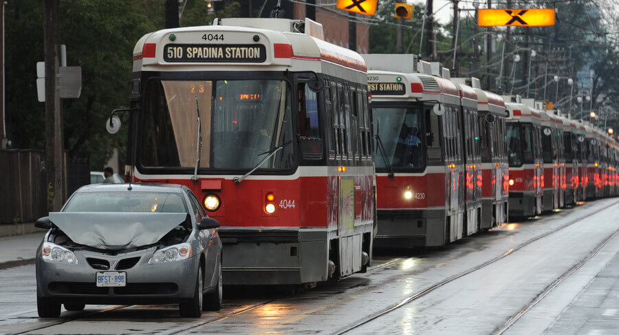 RCMP cruiser crash would have shut down Surrey LRT for 4 hours