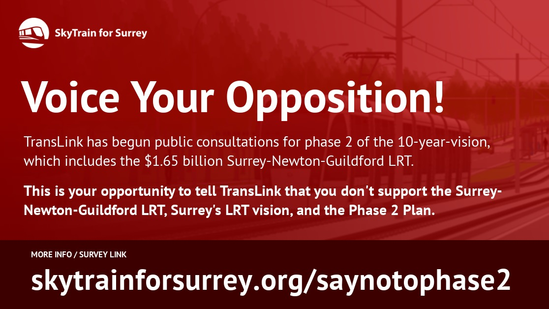 Voice Your Opposition: Phase Two Plan Online Survey