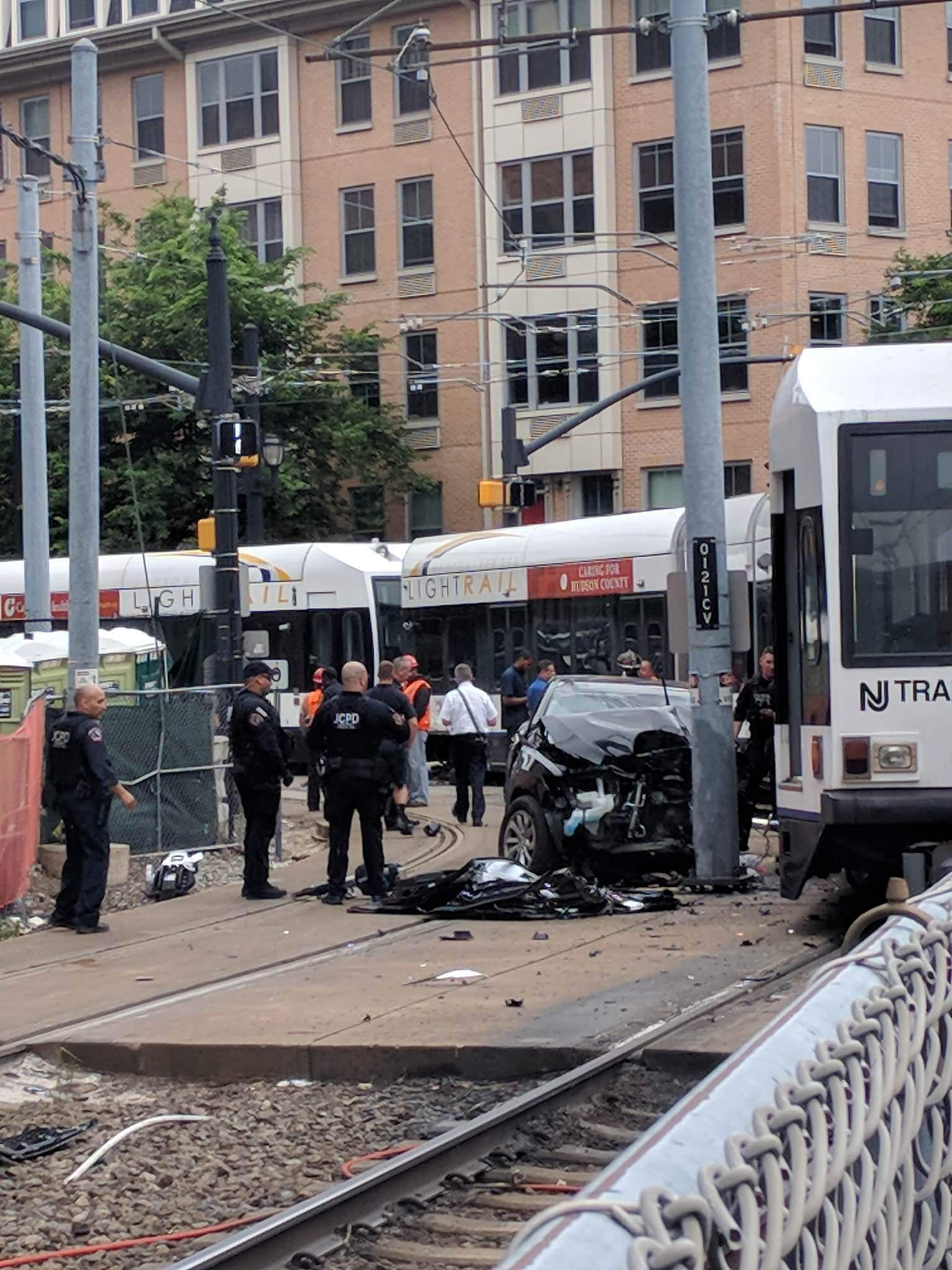 Commuter chaos: Crash halts light rail in Downtown Jersey City for 2.5 hours