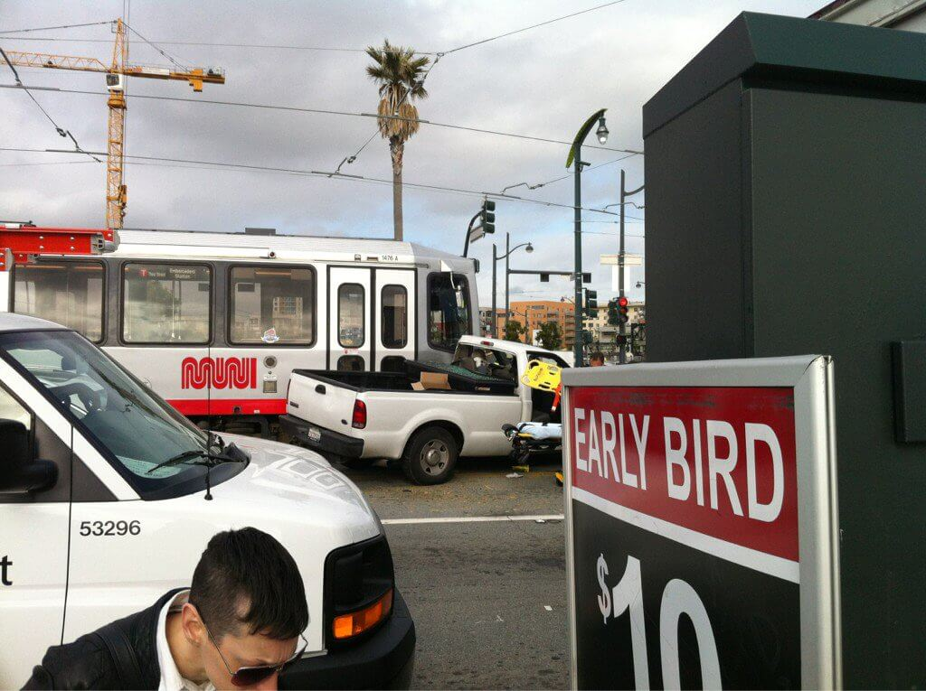 Commuters angry after San Francisco light rail tracks blocked twice in one day