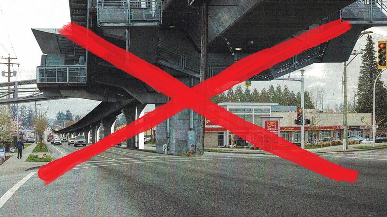 Fleetwood BIA SkyTrain renderings are misleading