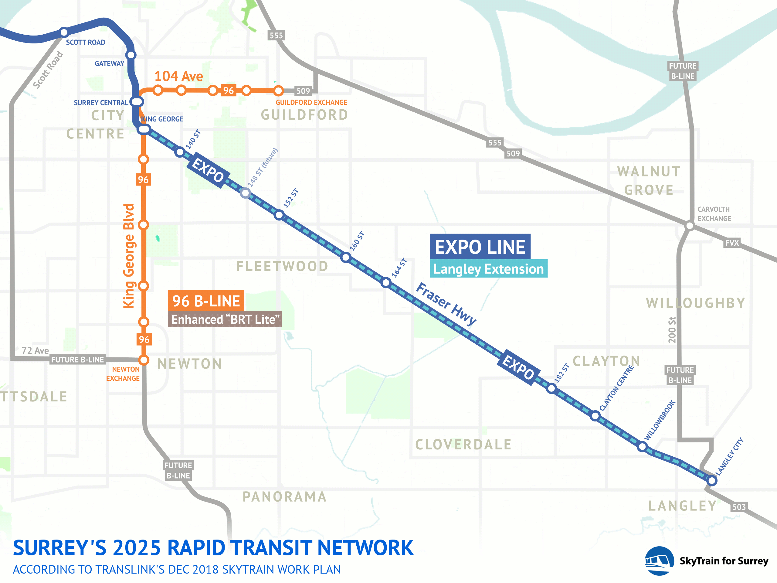 TransLink plan for SkyTrain delivers more transit improvements sooner than LRT vision