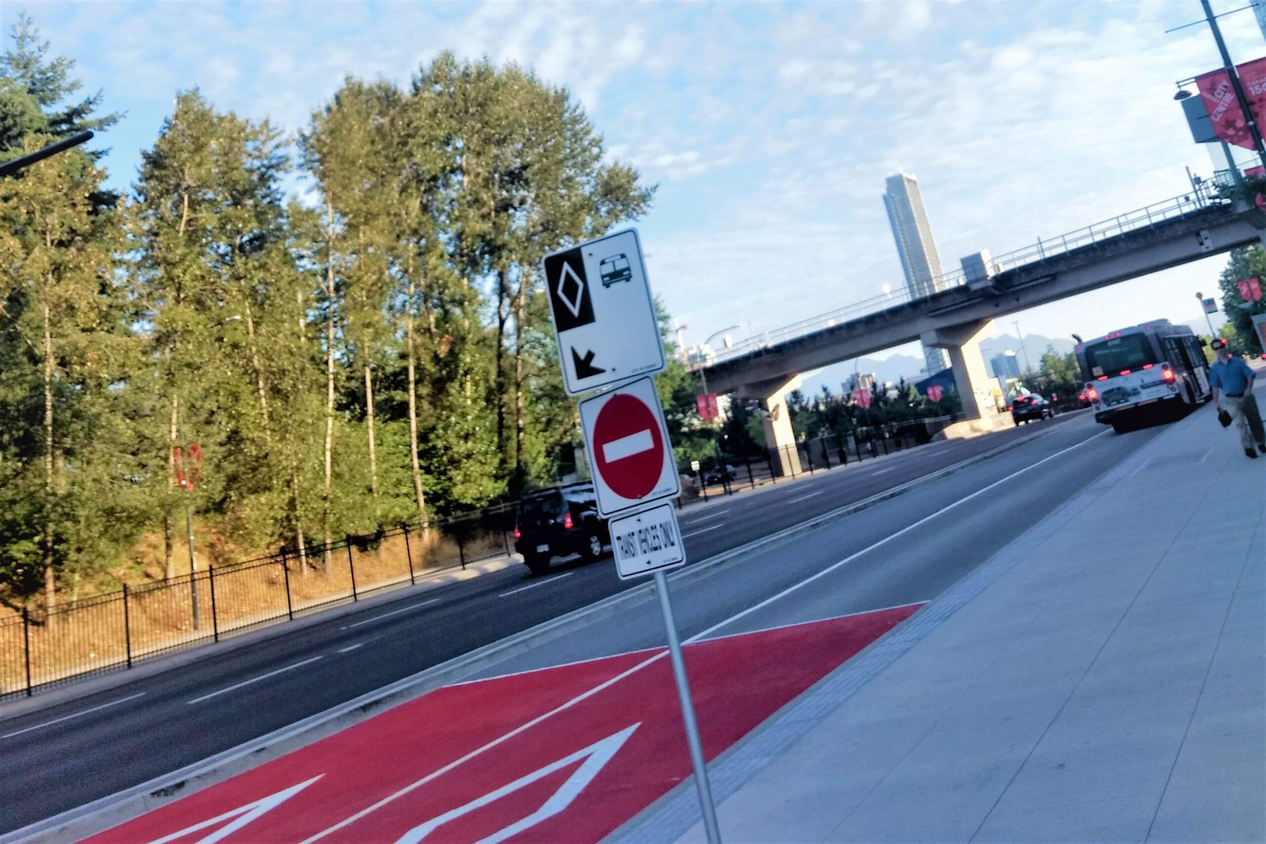 Fraser Highway bus lanes proposed as precursor to future SkyTrain