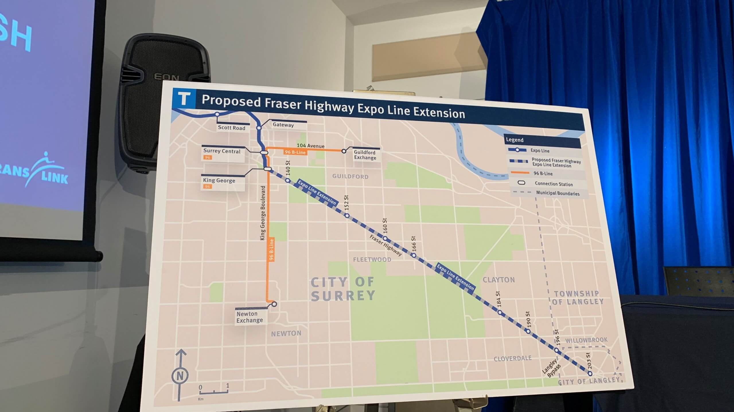 Trip data shows urgent need for full 16km Surrey-Langley SkyTrain​