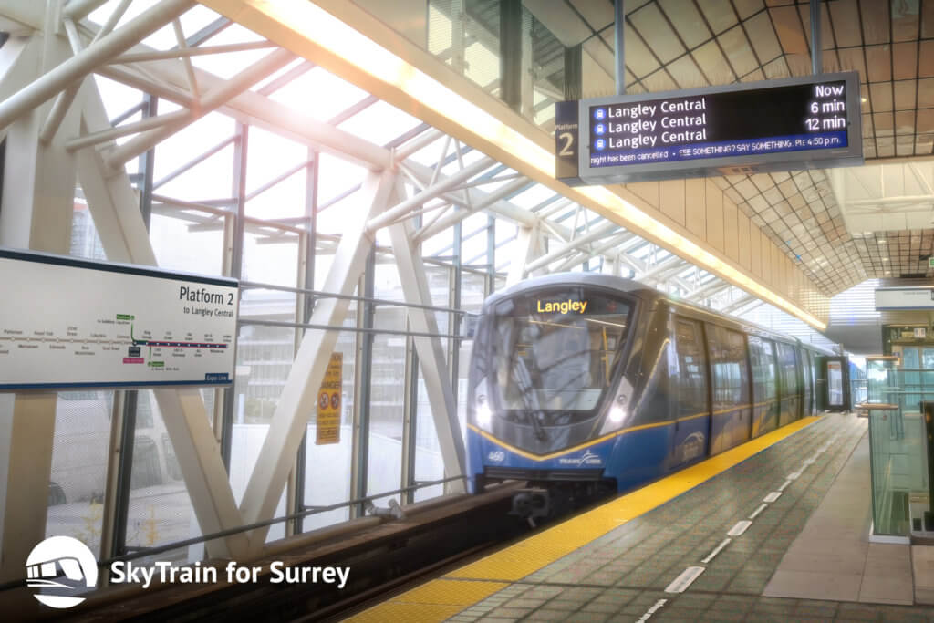 Langley voters send strong message that it's time to build SkyTrain to Langley City