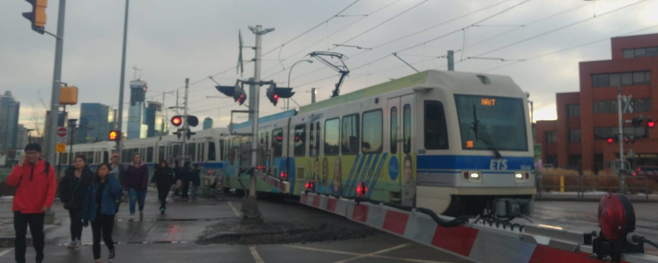 Edmonton LRT traffic modelling shows why surface LRT would have been a mistake for Surrey
