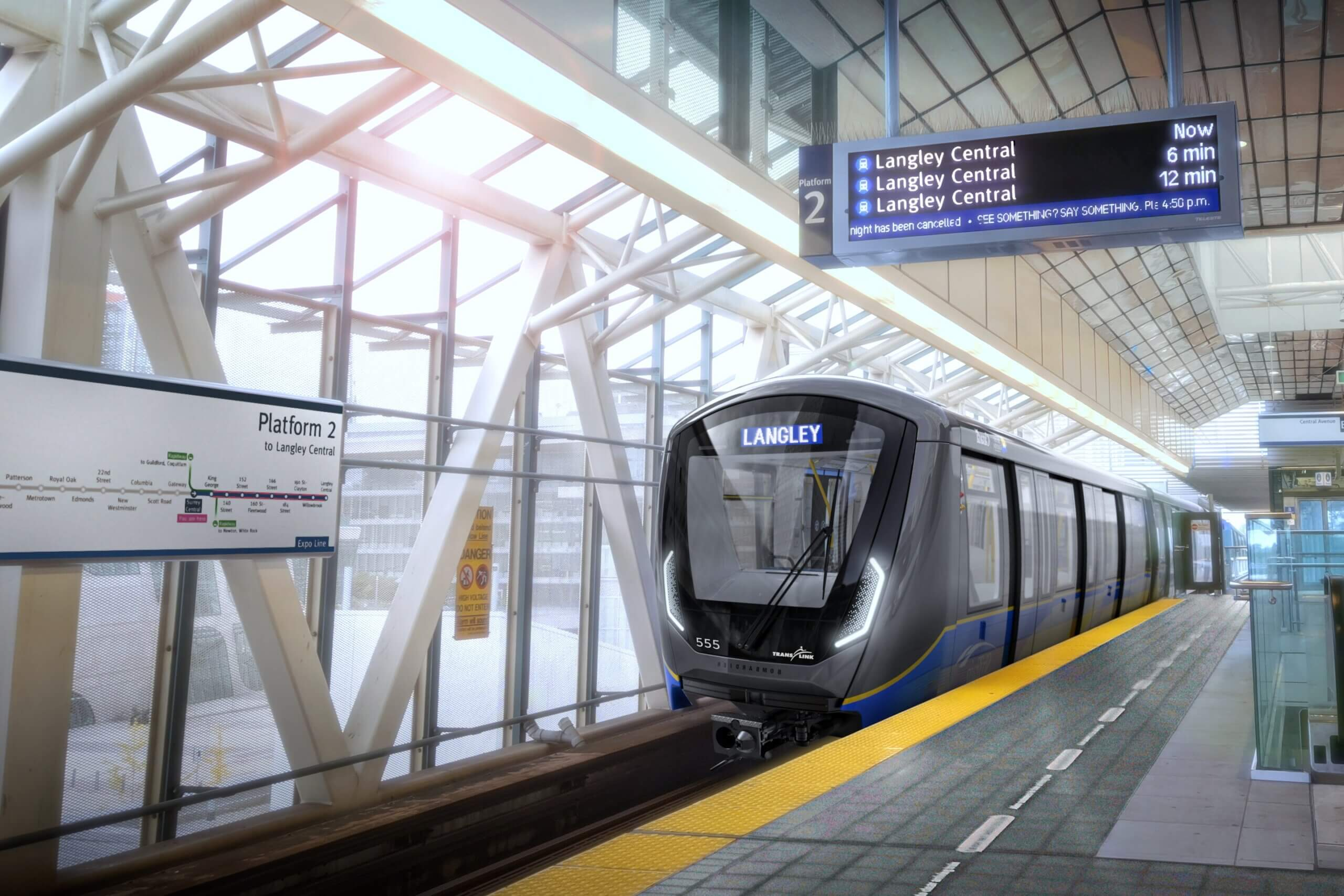 Decade-long campaign concludes with full funding announcement for Surrey-Langley SkyTrain
